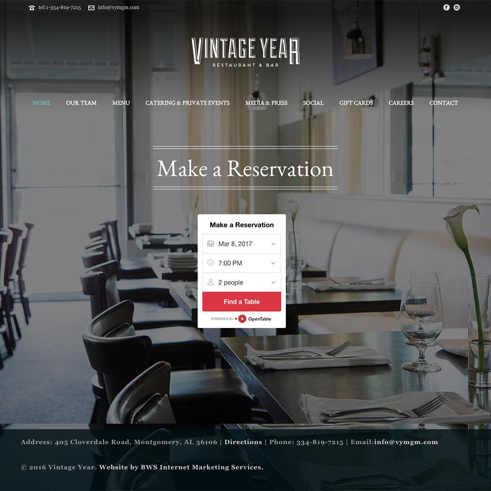 Vintage Year Restaurant & Bar
