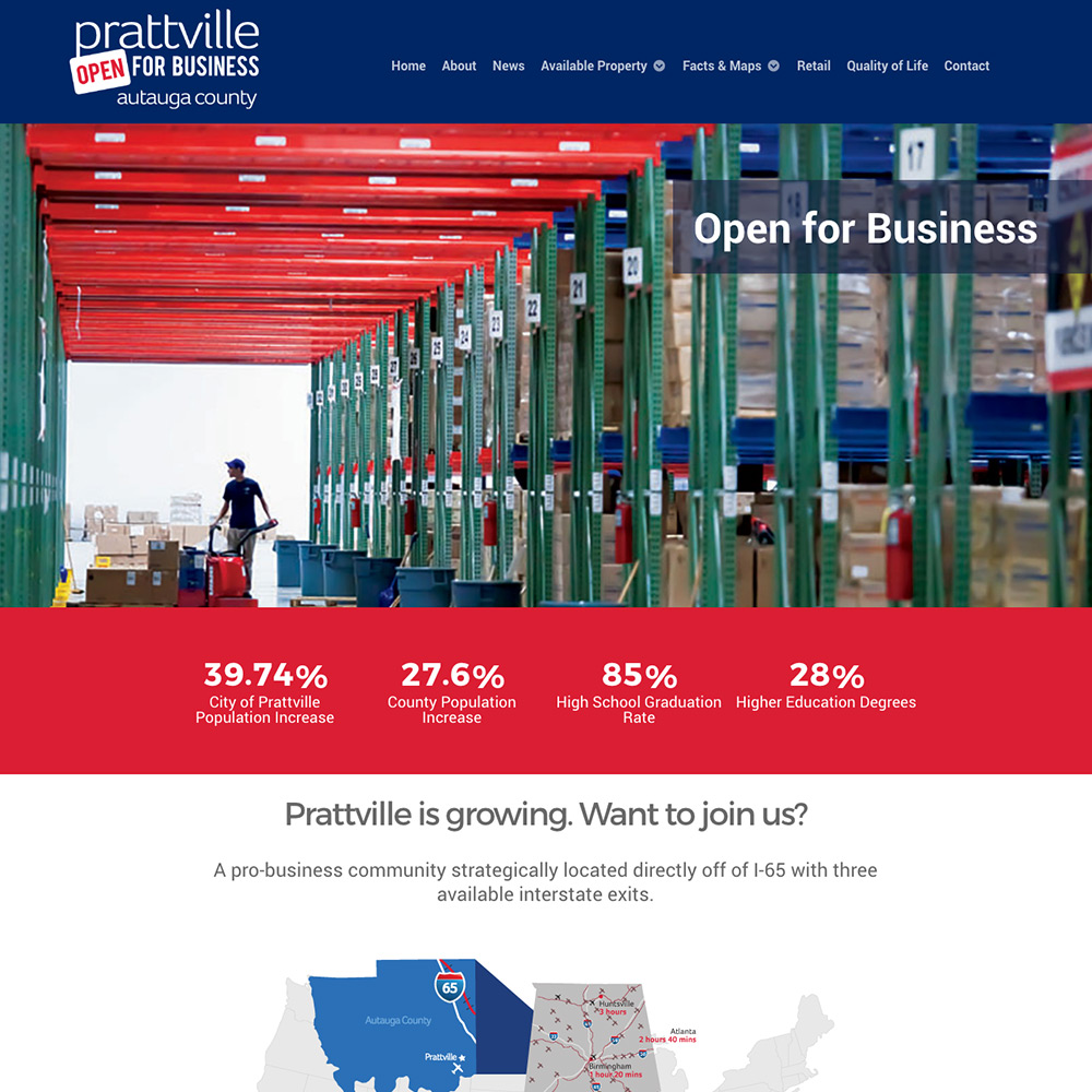 Prattville Economic Development