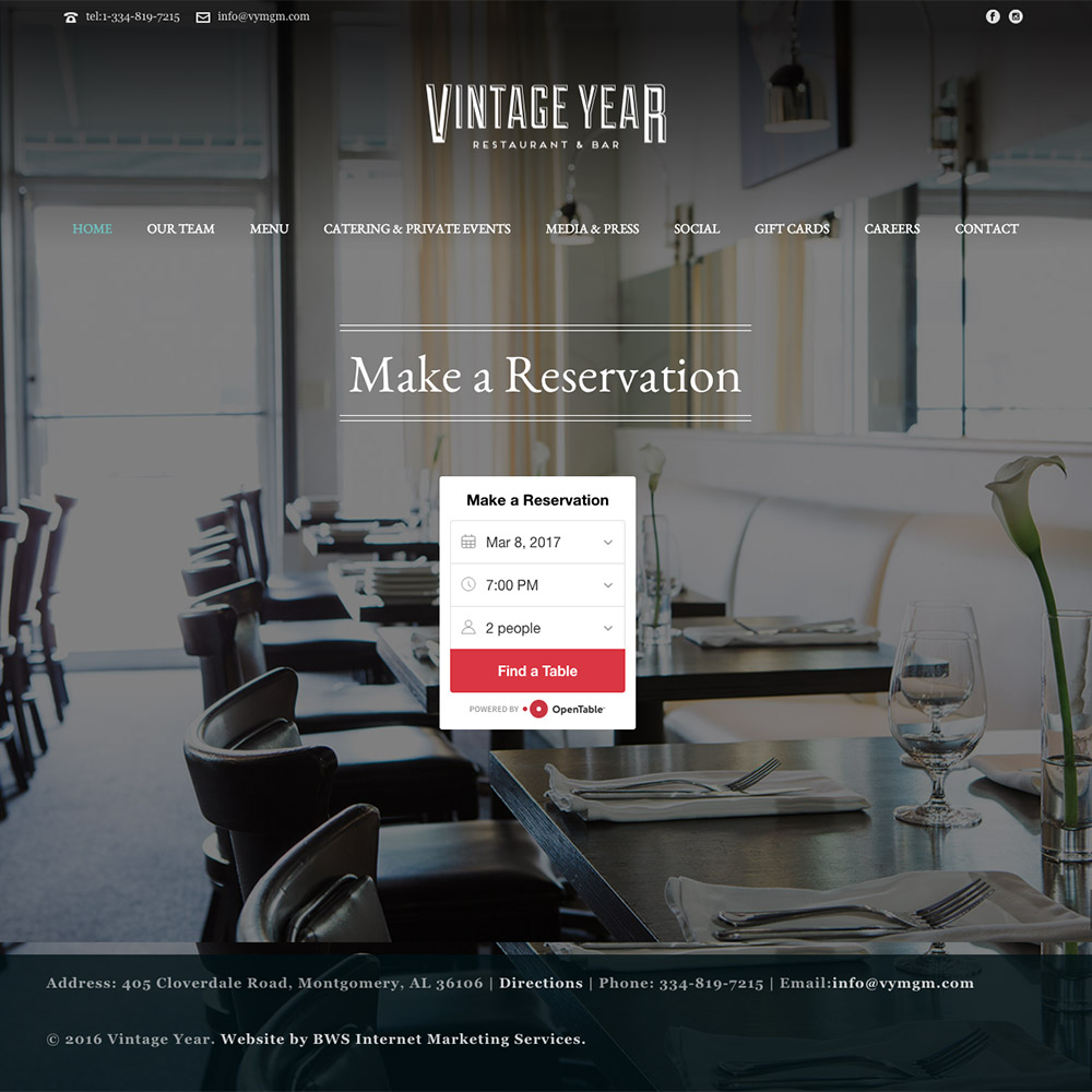 Vintage Year Restaurant & Bar